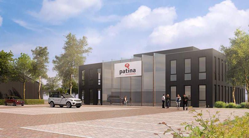Nieuwbouw kantoor Patina – Beverwijk